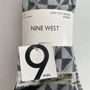 9-Pack Nine West Low Cut Socks